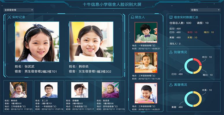 人脸识别技术宿舍管理系统解决方案